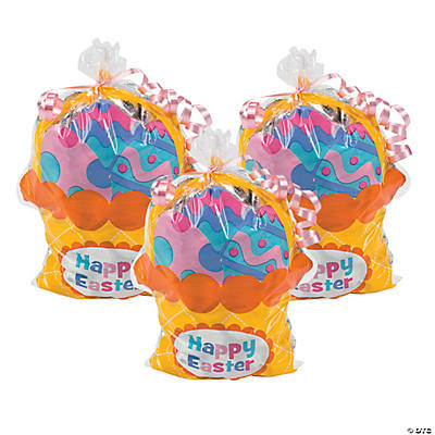 Easter Basket-Shaped Bags