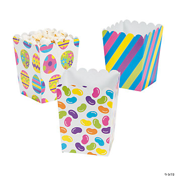 Mini Easter Popcorn Boxes