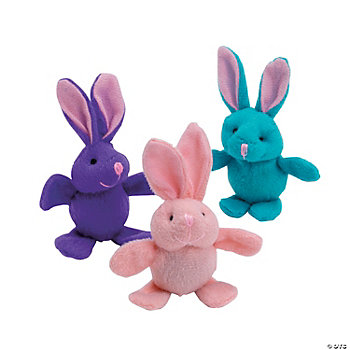 Plush Easter Bunny Bouncing Balls