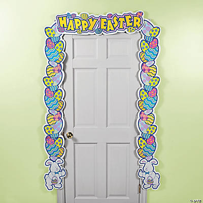 """Happy Easter"" Door Border"