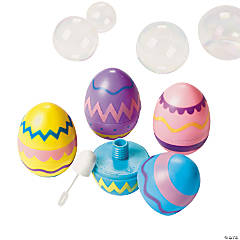 Easter Egg-Shaped Bubble Bottles