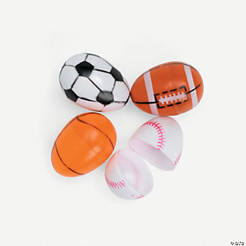 Sport Ball Easter Eggs