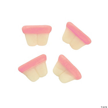 Gummy Bunny Teeth Treat Packets
