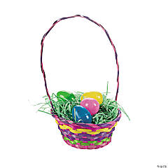 Rainbow Easter Baskets