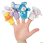 Plush Easter Finger Puppets