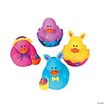 Vinyl Mini Easter Rubber Duckies