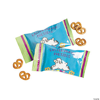 """Easter Prayer"" Pretzel Packs"