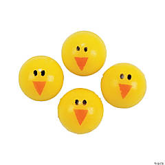 Rubber Chick Bouncing Balls