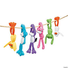 Easter Long Arm Stuffed Character Assortment