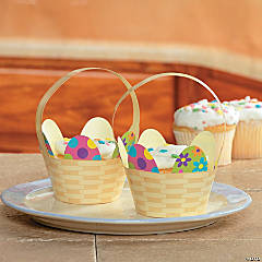 Easter Basket Cupcake Collars