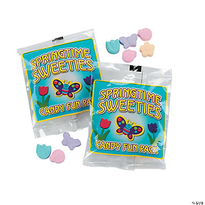 Bugs & Flowers Candy Fun Packs