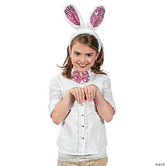 Plush Bunny Costume Set