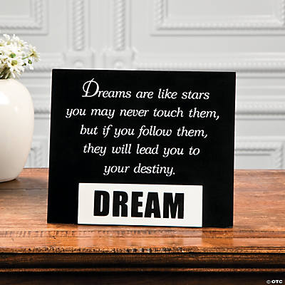 """Dream"" Graduation Tabletopper"
