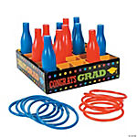 """Congrats Grad"" Bottle Ring Toss Game"