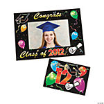 """Class Of 2012"" Graduation Photo Frame Magnets"