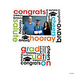 """Cheers To The Grad"" Magnetic Picture Frames"