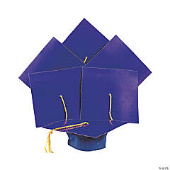 Royal Blue Graduation Caps