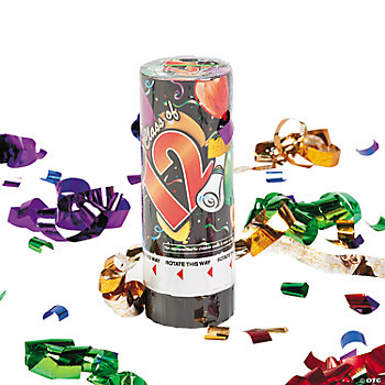"""Class Of 2012"" Party Poppers"