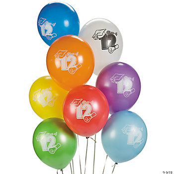 """Class Of 2012"" Latex Balloons"