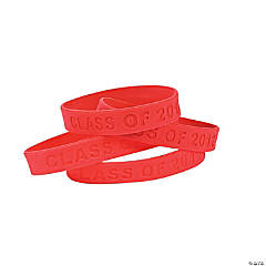 """Class Of 2012"" Red Bracelets"