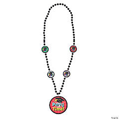 """Party Time!"" Graduation Beaded Necklaces"