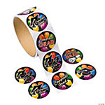 Graduation Roll Stickers