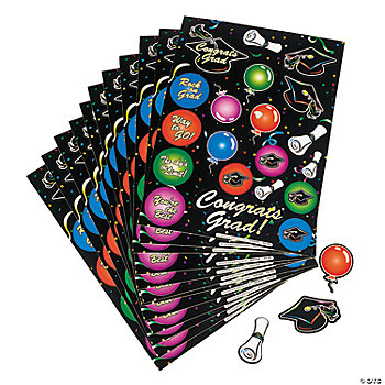 Graduation Sticker Sheets