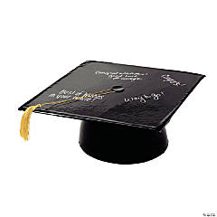 Inflatable Black Graduation Cap