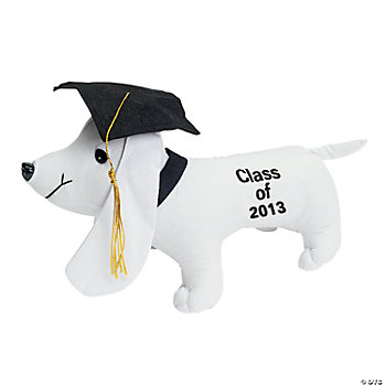 "Plush ""Class Of 2013"" Autograph Dog"