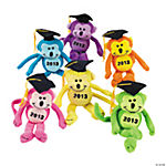"Plush Class Of ""2013"" Monkey Bean Bags"