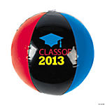 "Inflatable ""Class Of 2013"" Beach Balls"