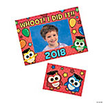 Graduation Owl Photo Frame Magnets