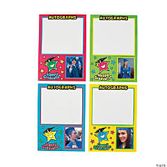 Graduation Star Photo Frame Autograph Cards