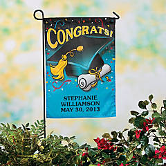 Personalized Mini Graduation Garden Flag