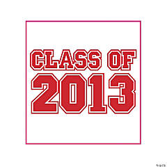 """Class Of 2013"" Red Tattoos"