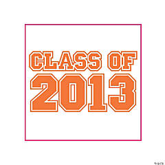 """Class Of 2013"" Orange Tattoos"