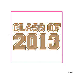 """Class Of 2013"" Gold Tattoos"