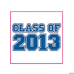 "Blue ""Class Of 2013"" Tattoos"