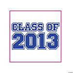 "Purple ""Class Of 2013"" Tattoos"