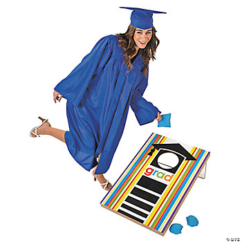 """Cheers To The Grad"" Bean Bag Toss Game"