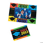 """Class Of 2013"" Graduation Photo Frame Magnets"