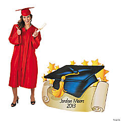 Mortarboard Stand-Up