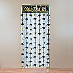 Hanging Foil Mortarboard Door Curtain