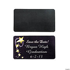 "Personalized Graduation ""Save The Date"" Magnets"