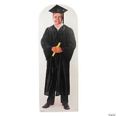 Male Graduate Photo Stand-Up