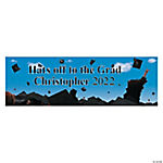 Personalized Celebration Graduation Banner - Small
