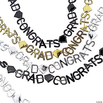 Shimmery Graduation Necklaces