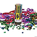 """Congrats Grad"" Party Poppers"