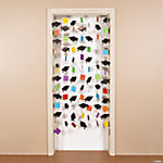 Mortarboard Door Curtain