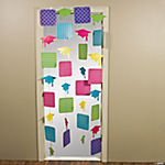Neon Grad Door Curtain
